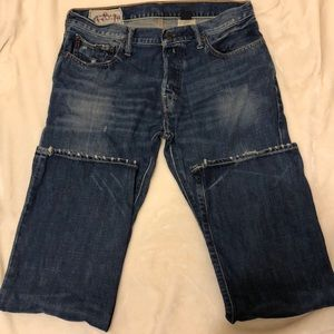 Abercrombie & Fitch Men's 5 pocket jeans 32Wx30L